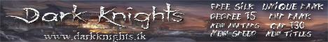 Dark Knights Private Server Cap 130 2018