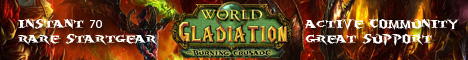 Gladiation WoW - TBC 2.4.3 2018