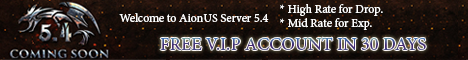 Welcome to AionUS Private Server 5.4 Free to PLAY 2020