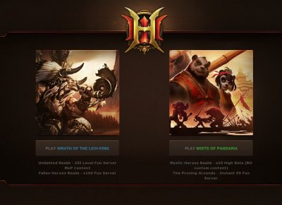 Heroes WoW 255 3 3 5 World of Warcraft - Private Servers Top