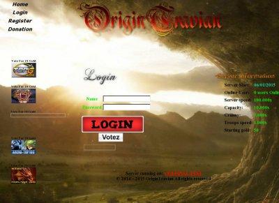 OriginTravian X100 000 - 50 Free Gold Start Travian