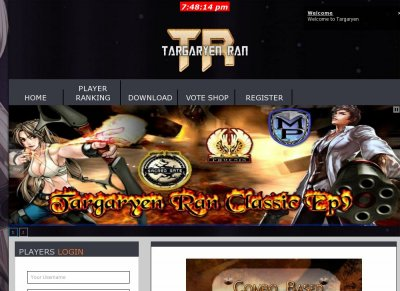 Targaryen Ran Classic Ep9 Ran Online - Private Servers Top