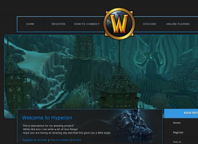 Hyperions-Wrath World of Warcraft - Private Servers Top 100