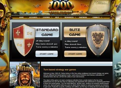 New 1000 AD - MMORPG & MPOG